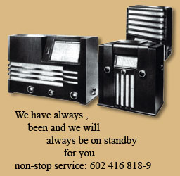 We have always been and we will always be on standby for you non-stop service: 602 416 818-9